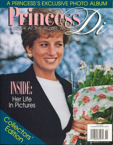 Rare PRINCESS DI DIANA A LOOK AT THE ROYAL WOMAN ~~ 1995 Pre Death ~~ B-5-2