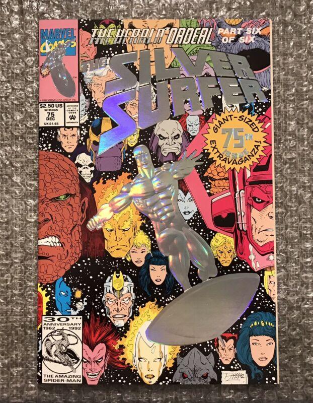 The Silver Surfer #75 - 1992 Marvel Modern Age Comic Book - High Grade