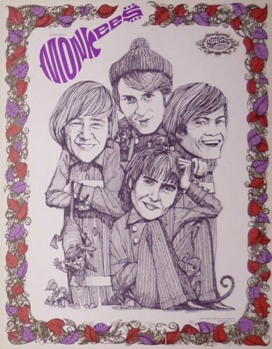 2 THE MONKEES POSTERS