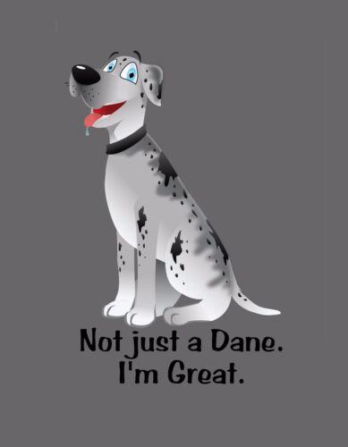 METAL MAGNET Great Dane Not Just A Dane I