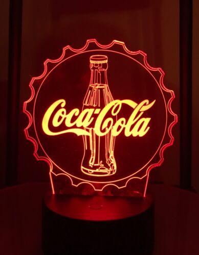 Coke logo light