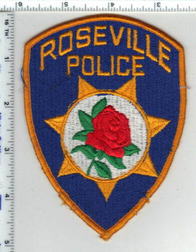 Roseville Police (California) 2nd Issue Shoulder Patch