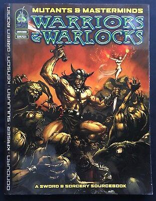 Warriors & Warlocks - Mutants & Masterminds Sourcebook - Green Ronin GRR2523
