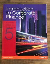 Introduction to Corporate Finance- 5th edition Pine Mountain Ipswich City Preview