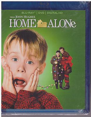 HOME ALONE (Blu-ray/DVD,2015,2-Disc,Digital Copy, 25th Anniversary) NEW