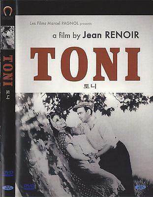 Toni (1935, Jean Renoir) DVD NEW
