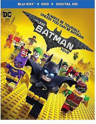 Sealed The Lego Batman Movie  Blu Ray   Dvd  Digital Hd  2017  W Slip No Tax