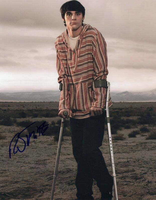 RJ Mitte Breaking Bad Walter White Jr. Signed 8x10 Photo w/COA #10