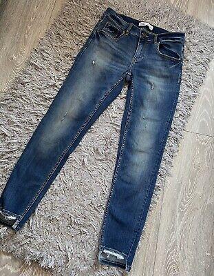 Zara Skinny Jeans With Rips Size EUR 40 UK 10