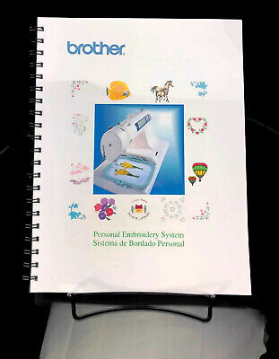Brother PE-180D Sewing Machine Manual User Guide COLOR Reprint Instructions Brother Sewing Machine User Manual