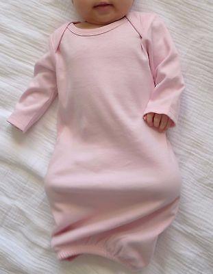 - Kavio! Unisex Infants Interlock Lap Shoulder Long Sleeve Gown