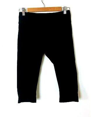 Women S Zella Live In Legging Capri Crop Length Yoga Slim Stretch Solid Black