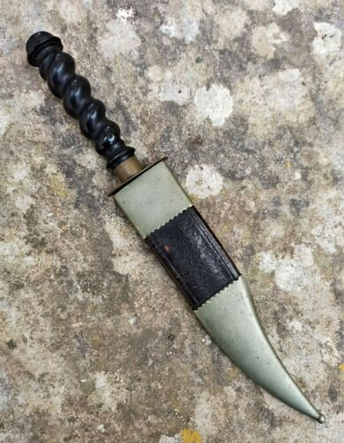 Spanish 19th - 20th Century Bowie Knife
