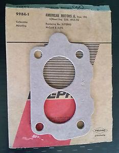 9984-1-2bbl-Fel-Pro-Carburetor-Mounting-Gasket-65-70-AMC-196-232-57-70-AMC