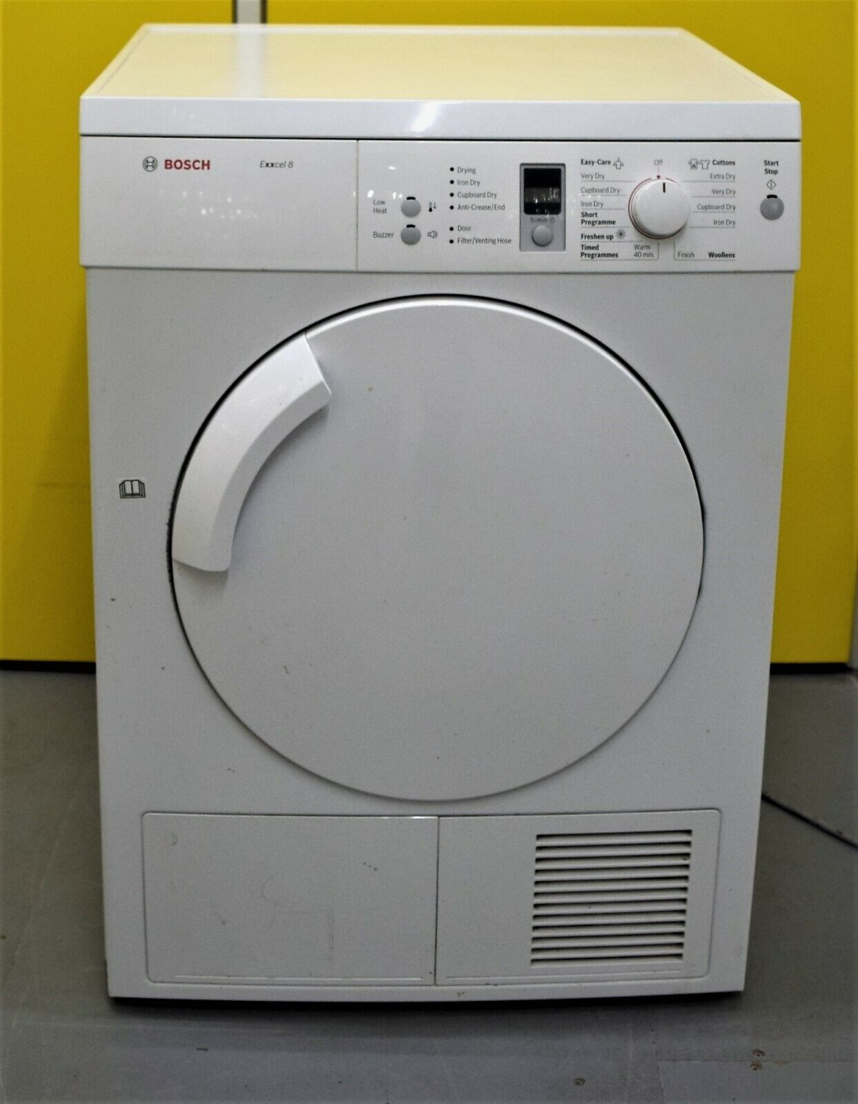 Bosch WTV74308GB/11  8kg Vented Tumble Dryer- White