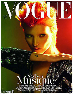 Paris Vogue Cover David Bowie 8 x 10  Giclee Print