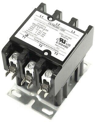Definite Purpose Contactor 60 Amp 3 Pole 120V Coil YC-CN-PBC603-2