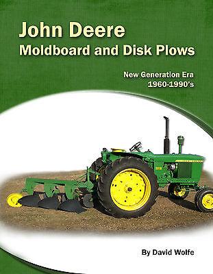John Deere Moldboard And Disk Plows - New Generation Era 1960s-1990s