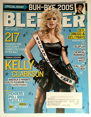 Kelly Clarkson Blender Magazine Jan/Feb 2006