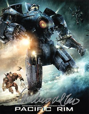 Guillermo Del Toro Signed 8x10 Photo Pacific Rim COA