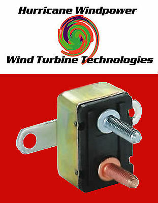 12 volt 40 Amp DC Auto Reset Circuit Breaker Type 1 for Wind Turbine Application