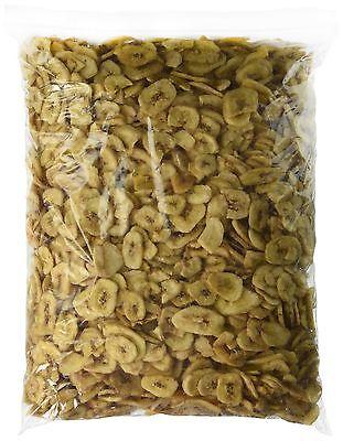 Sweetened Banana Chips Dried 5 lbs