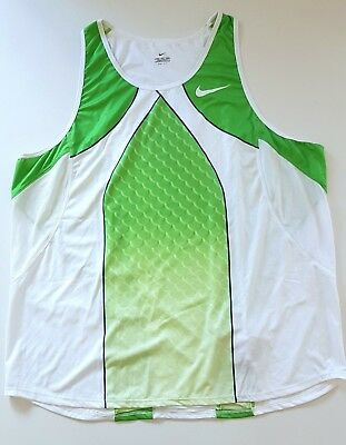 NIKE ELITE PRO SINGLET RUN VEST TANK SPONSORED ATHLETE TRACK FIELD OLYMPIC NEW