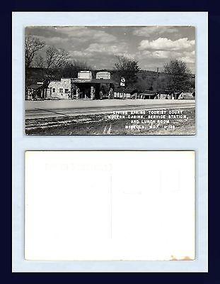 MISSOURI MINEOLA US ROUTE 40 PHILLIPS 66 SERVICE STATION REAL PHOTO CIRCA 1950