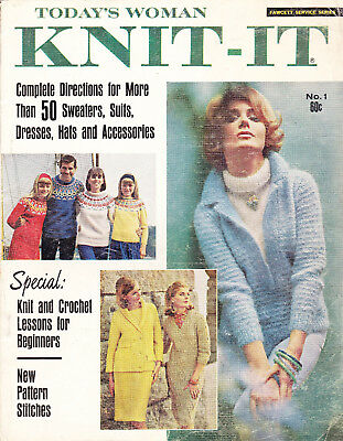 Today's Woman Knit-It Magazine Number 1 1965