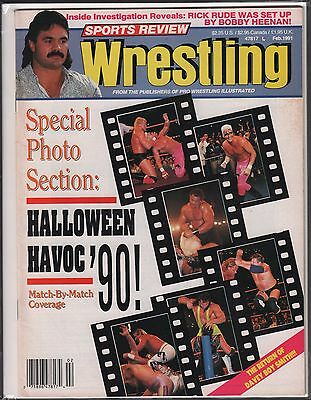 Halloween Review (Sports Review Wrestling February 1991