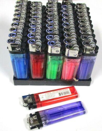 WHOLESALE LOT OF 100 PIECES( 2 PACK)--  DISPOSABLE CIGARETTE LIGHTERS-PL50
