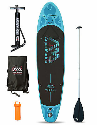 "Aqua Marina VAPOR 10'10"" Inflatable SUP Stand Up Paddle Board Complete Package"