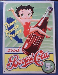 Betty Boop Metal Signs