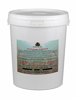 MULTI MITE® 10KG BKT DIATOMACEOUS EARTH DE Powder - Feed Supplement