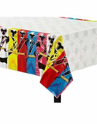 Power Rangers Ninja Steel Party Supplies 54x96 in Plastic Table Cover (E)](Power Ranger Party)