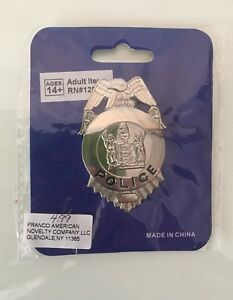 NEW Costume Police Badge.  Paid $5.64 ......$3.00
