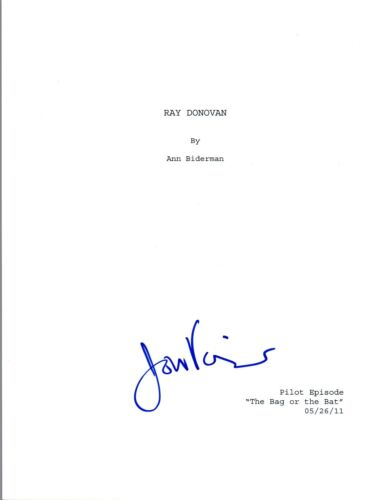 Jon Voight Signed Autographed RAY DONOVAN Pilot Episode Script COA VD