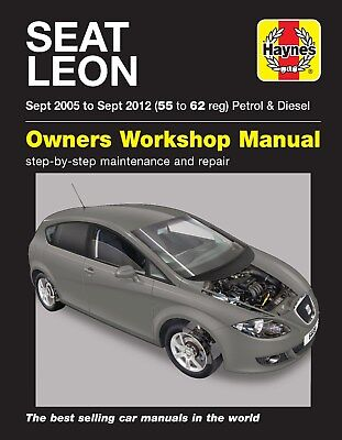 6408 Haynes Seat Leon (Sept 2005 - Sept 2012) 55 to 62 Workshop Manual