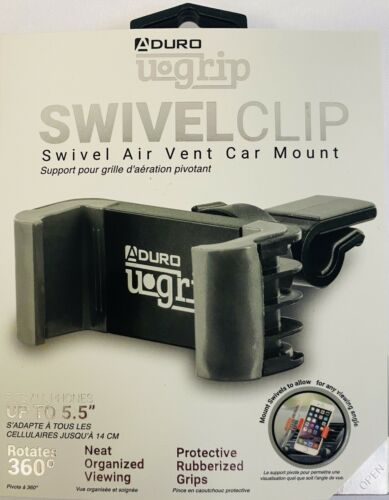 Aduro® U-GRIP SWIVEL Universal Smartphone Air Vent Car Moun
