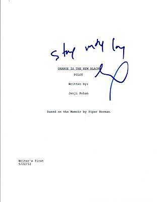 Laverne Cox Signed Autographed Orange Is The New Black Pilot Script Coa Vd