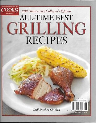 Cook's Illustrated Best Grilling Recipes Magazine Grill Smoked Chicken Steak