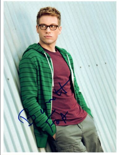 Barrett Foa Signed Autographed 8x10 Photo NCIS Los Angeles COA VD