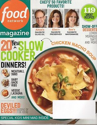 Food Network Magazine   2014   April   Slow Cooker Dinners  119 Recipes