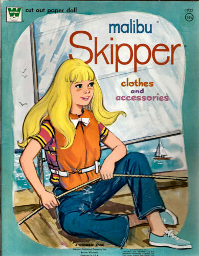Vintage MalibuSkipper Clothes and Accessories Paper Dolls