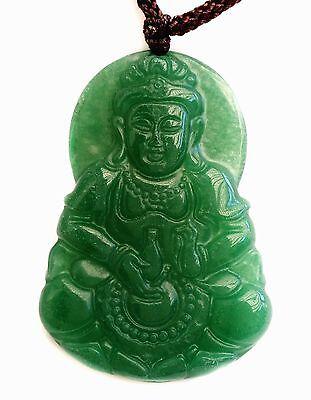 Feng Shui Jade Chinese Kwan Yin Guan Yin necklace pendant Amulet for protection