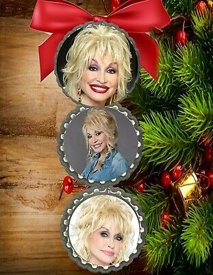 a beautiful Dolly Parton christmas ornament tree decorations fast free ship