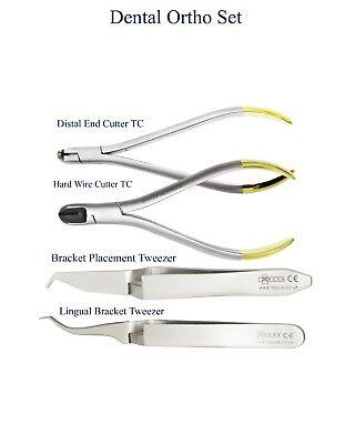 Alicates para Ortodoncia Prótesis corte distal Pinzas posicionar alambres Pliers