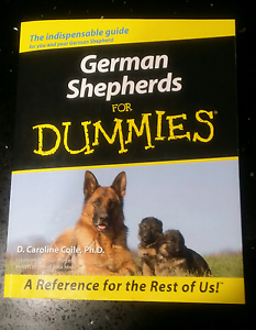 German Shepherds for Dummies  book Mirrabooka Stirling Area Preview