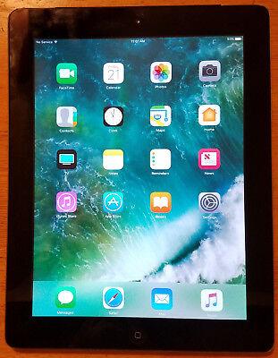 Apple iPad 4th Gen. 16GB, Wi-Fi + Cellular (AT&T), A1459, 9.7in - Black