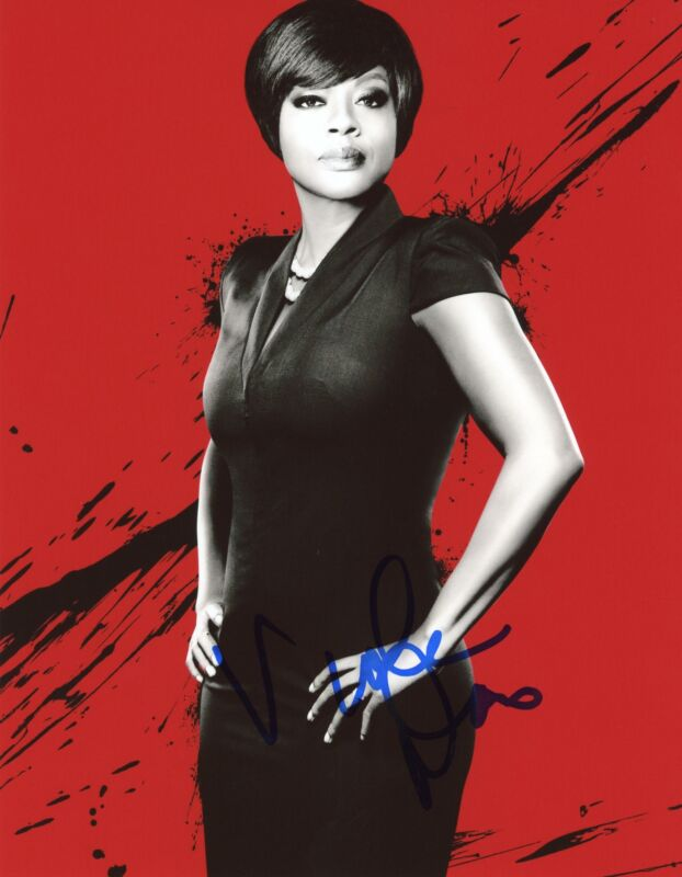 "Viola Davis ""How to Get Away with Murder"" AUTOGRAPH Signed 8x10 Photo ACOA"